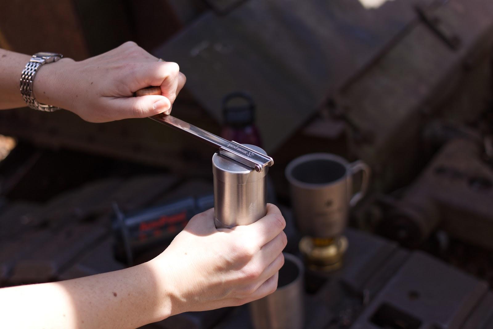 Snow Peak Field Barista Coffee Grinder