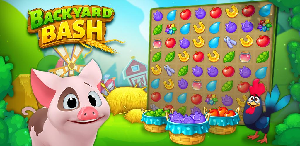 ApkMod1.Com Backyard Bash: New Match 3 Pet Game v1.3.1 + MOD (Mod Diamond) download free Android Casual Game