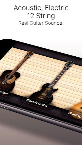 Real Guitar Free - Chords, Tabs & Simulator Games screenshot 4