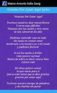 Marco Antonio Solís Lyrics screenshot 5