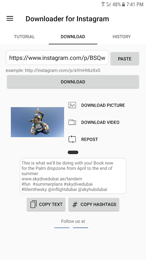 how to press play on instagram videos