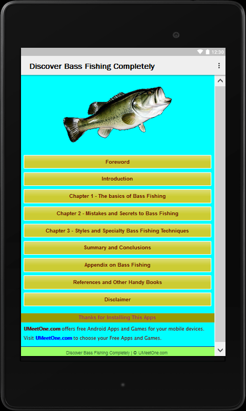 Discover Bass Fishing Compl.- screenshot