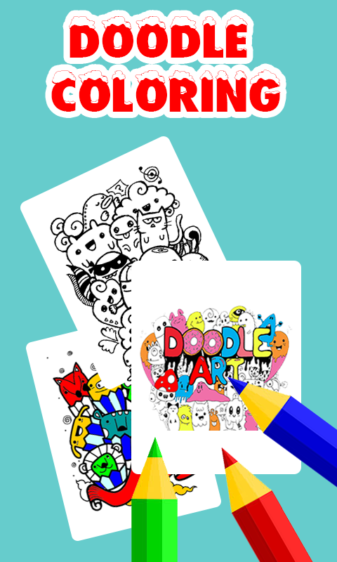 Doodle Coloring Book Free Screenshot