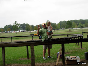 Photo: Train watchers   HALS 2009-0919