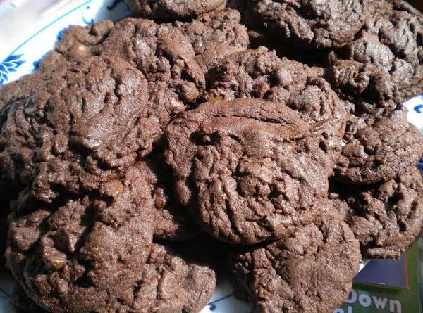 Hershey Chips Soft Chocolate Cookies