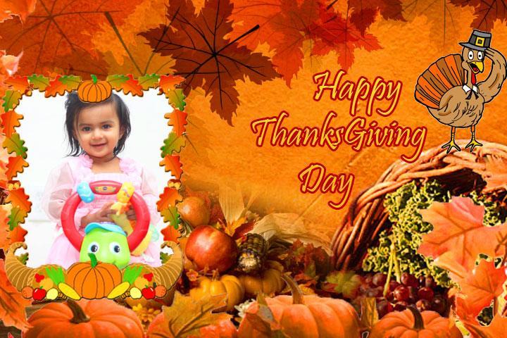 android Thanksgiving Day Photo Frames Screenshot 2