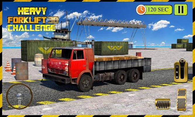 3D Forklift Challenge 2015 - screenshot
