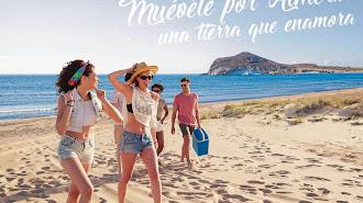 Cartel promocional de 'Costa de almería' que se expondrá Fitur.