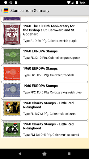 Stamps of Germany screenshot 1
