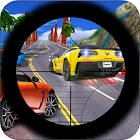 Traffic Hunter Sniper Shooter: 3d 2018 FREE icon