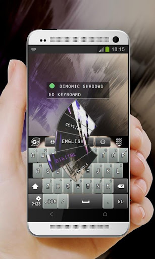 恶魔的阴影 GO Keyboard|玩個人化App免費|玩APPs