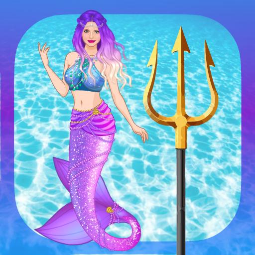 ⚓  ☆ Mermaid Princess dress up ☆