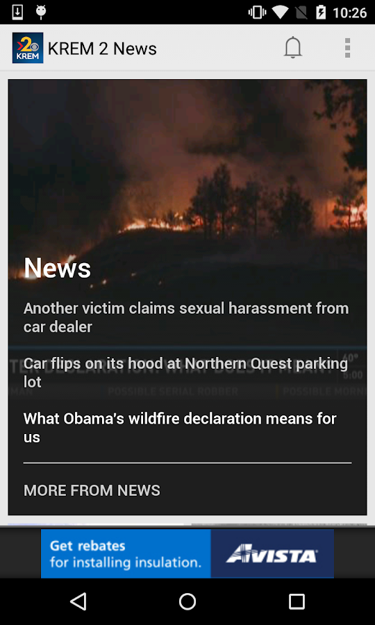 KREM 2 Spokane News- screenshot