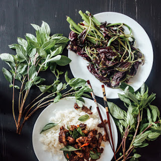 Hoisin Thai Basil Beef.