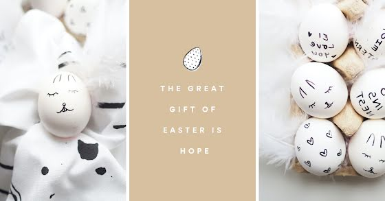 The Great Gift of Easter - Easter Template
