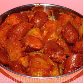 Sosis Bandari, Persian Sausage Breakfast.