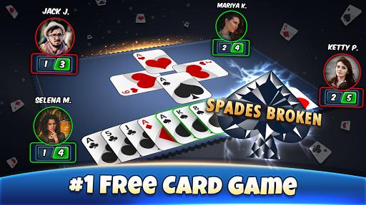 Spades - Play Free Offline Card Games 7.8 APK MOD screenshots 1