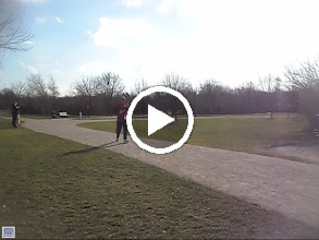 Video: Congrats Sir the finish line is only 300' ahead
