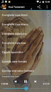 Biblia audio in romana - náhled