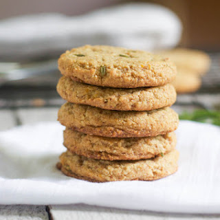 Rosemary Orange Almond Cookies.