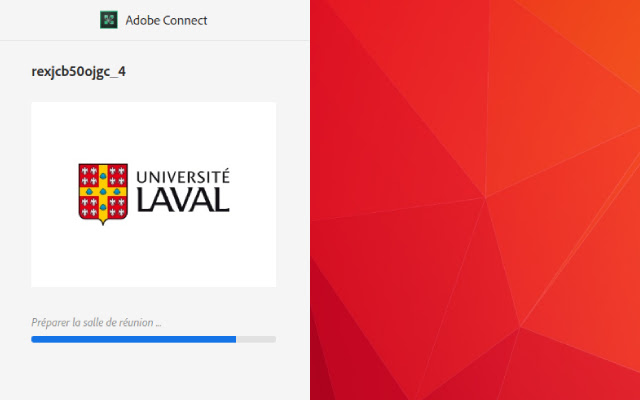ULaval Adobe Connect HTML5