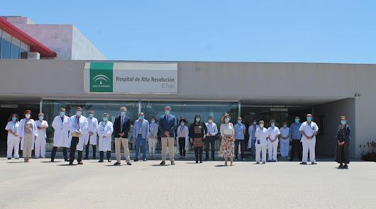 El Hospital de El Toyo cumple 15 años de atención a Almería, Níjar y Carboneras