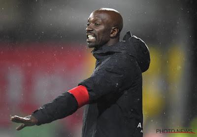 Claude Makelele, le coach d'Eupen veut que son équipe donne tout durant les neufs dernières rencontres pour assurer son maintien en D1A