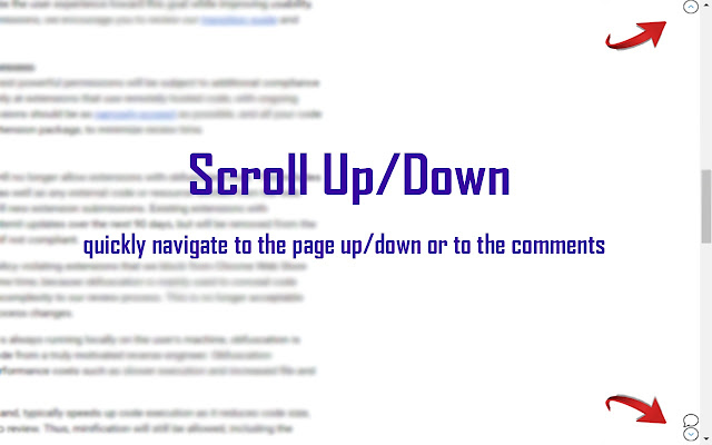 Scroll Up/Down