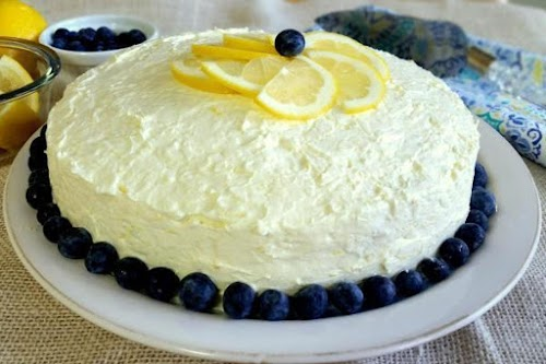 """Thank God For Berries Cake! """"This started out as a blueberry upside..."""