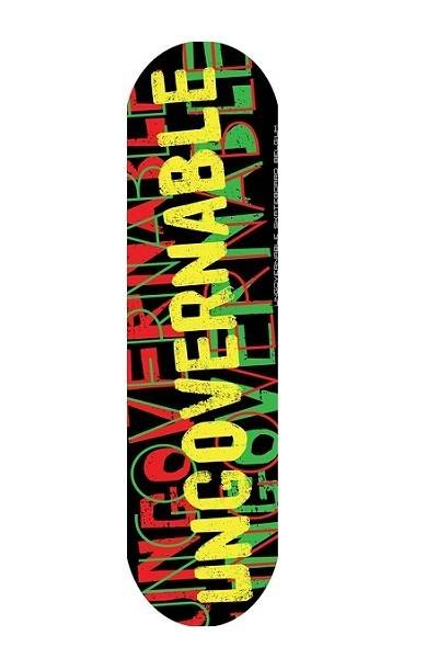 skateboard deck Ungovernable