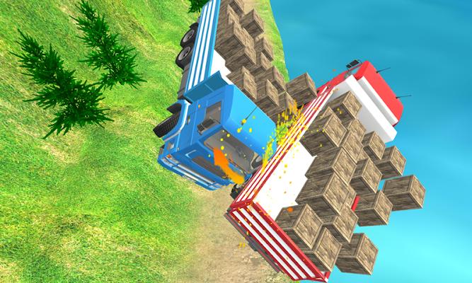 New Offroad Cargo Truck Driver - screenshot