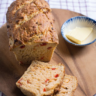 Chickpea and tomato brunch loaf, 17p (VEGAN).