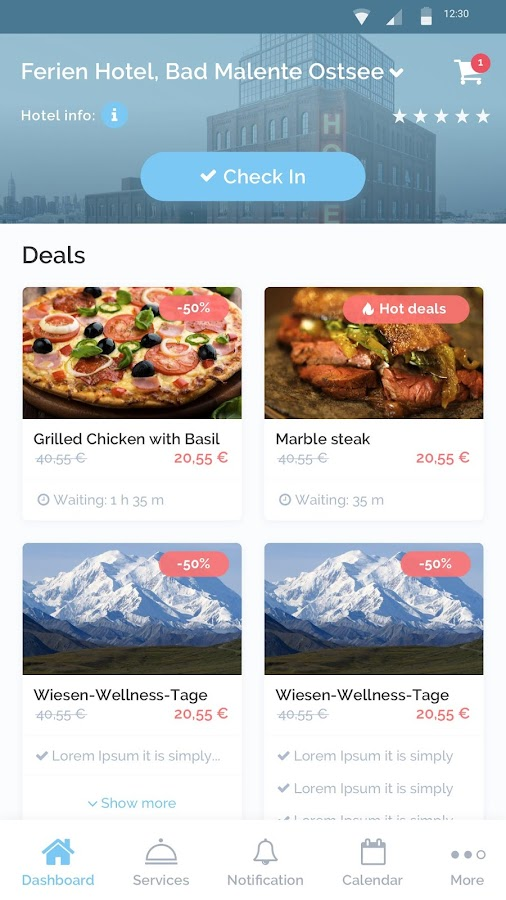 HotelFriend - hotels & services, travel deals- screenshot