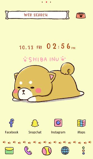 Dog Wallpaper Cute Mini-Shiba Theme 1.0.1 screenshots 1