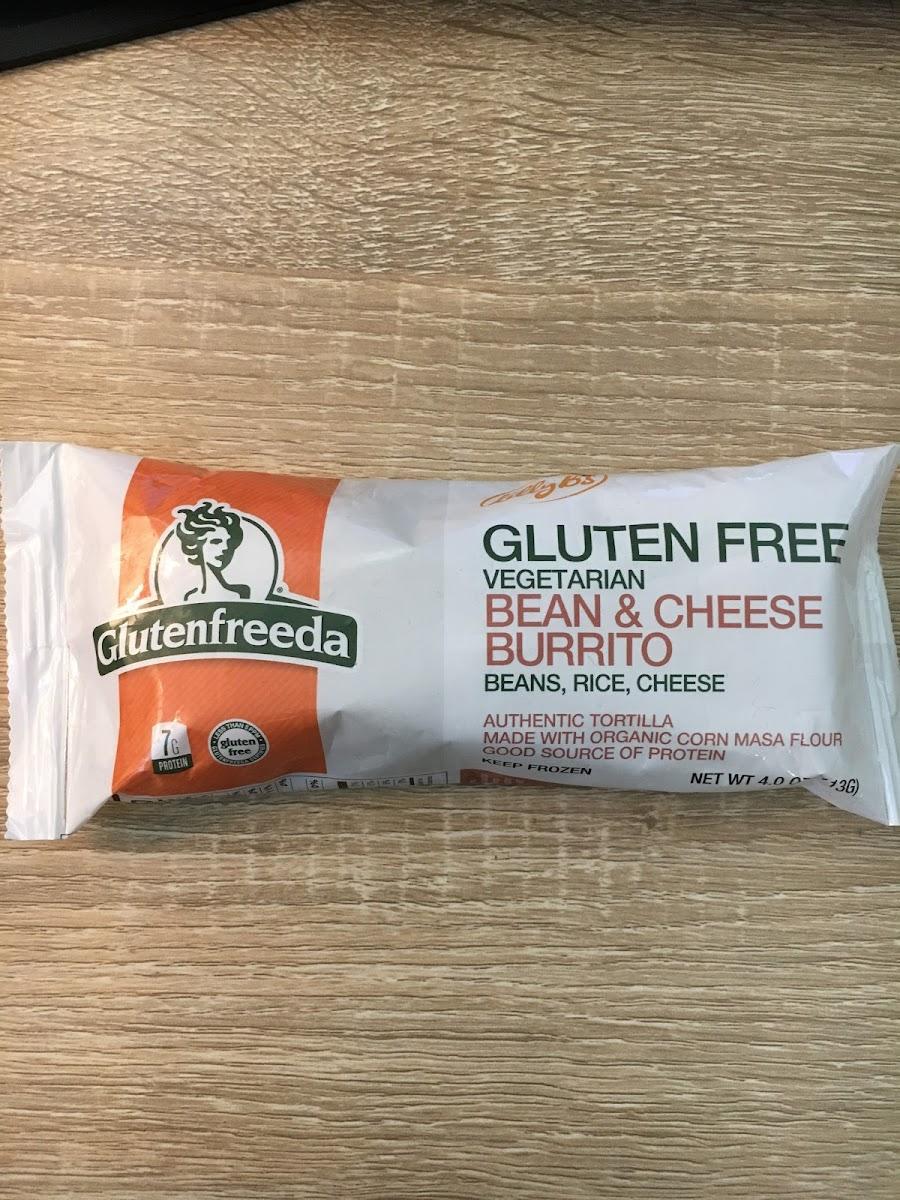Glutenfreeda, Vegetarian Bean & Cheese Burrito