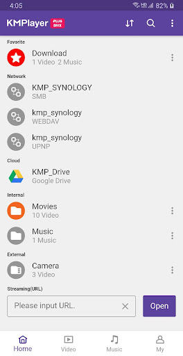 KMPlayer Plus (Divx Codec) - Video player & Music