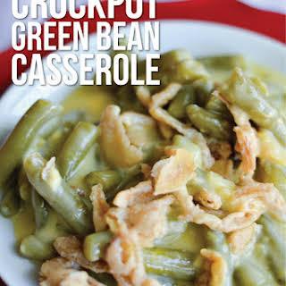 Crockpot Green Bean Casserole.