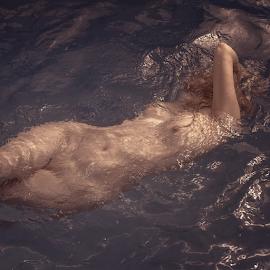Body by Dmitry Laudin - Nudes & Boudoir Artistic Nude ( glare, woman, beauty, light, nude, body, sun, water )