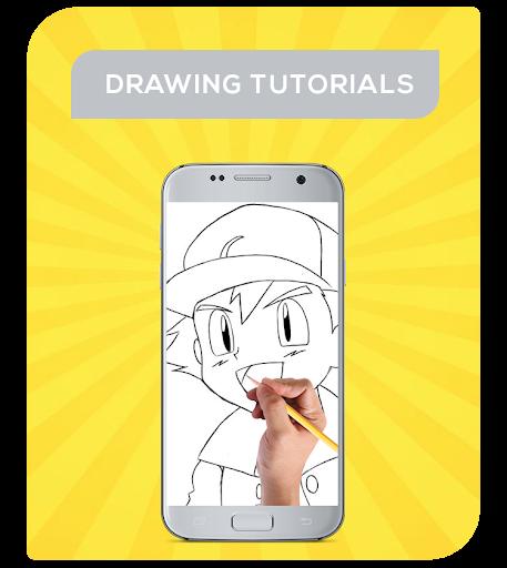 玩免費遊戲APP|下載How To Draw Pokemon Characters app不用錢|硬是要APP