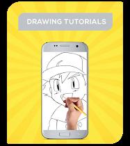 How To Draw Pokemon Characters - screenshot thumbnail 02
