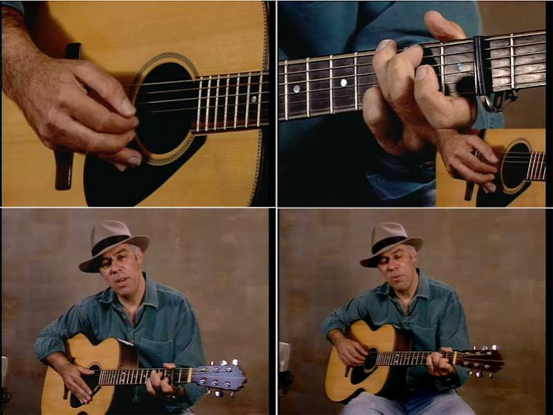 Fred Sokolow - The Music Of Bob Dylan Arranged For Fingerstyle Guitar