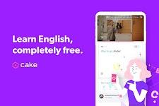 screenshot of Cake - Learn English for Free