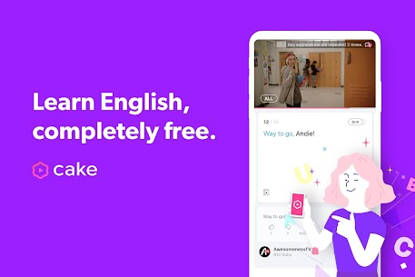 Cake – Learn English for Free App Download For Android and iPhone 1