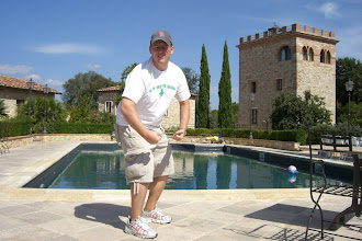 Photo: By the pool in Sienna, Italy