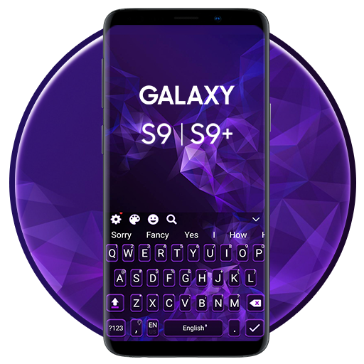 Samsung Galaxy S9 and S9+ Keyboard Theme