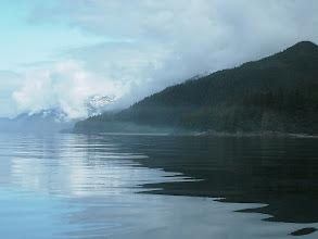 Photo: Heading north up Stephens Passage.