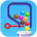 Pull Pin - 3D Color Ball icon