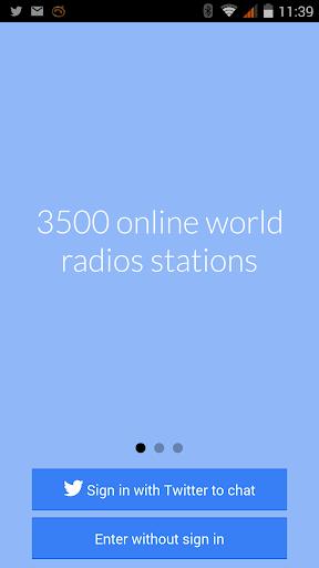 Listen to Social Radios