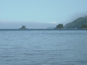 Photo: A rocky islet in Clarence Strait just south of Myers Chuck.