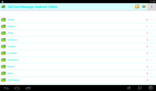 Sd Card Manager Android Tablet
